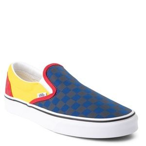 Vans Classic Slip-On Checkerboard OTW Rally Shoes
